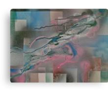 Fleeing Canvas Print