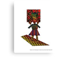 Patterns in the Female Light of Creative Aura by Darryl Taylor Kravitz 2015 Canvas Print