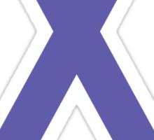 Pancreatic Cancer Awareness ribbon Sticker