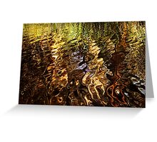 Reflective moment Greeting Card