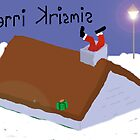 Christmas Chimney card by TonyFlanigan
