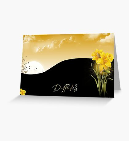 C.E. Daffodils Greeting Card