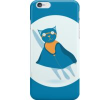 Сat superhero  iPhone Case/Skin