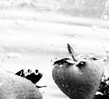 Strawberries in B&W by Ian Tilly