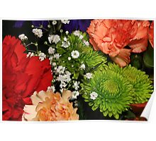 Macro Bouquet Poster