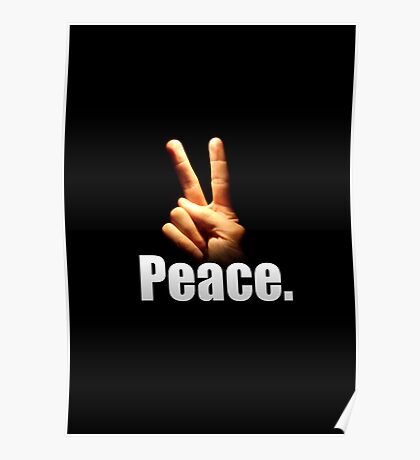 Peace. Poster