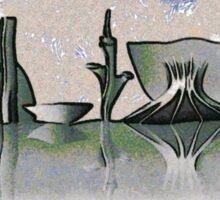 Brasilia skyline Sticker