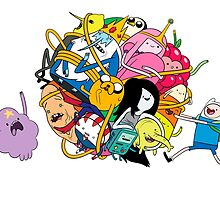 the adventure time mess by Baipodo