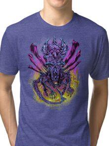 LONG LIVE THE QUEEN (color) Tri-blend T-Shirt