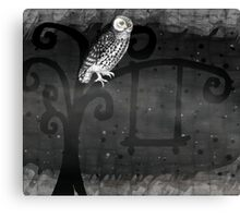 Midnight Swing Canvas Print