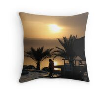Dead Sea - Jordan Throw Pillow