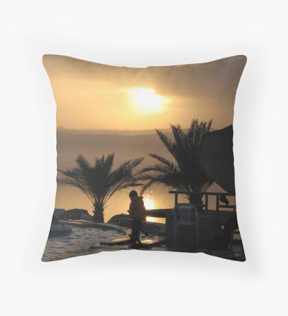 Dead Sea - Jordan Throw Pillow