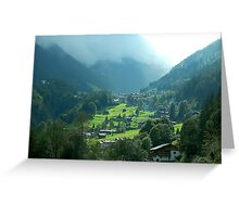 Zillertal 2 Greeting Card
