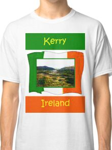 jGibney Ireland 1999 Kerry Lake District Kerry Ireland Flag T-Shirt wb The MUSEUM Red Bubble Gifts Classic T-Shirt