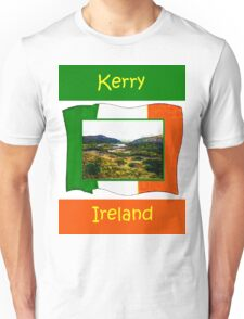 jGibney Ireland 1999 Kerry Lake District Kerry Ireland Flag T-Shirt wb The MUSEUM Red Bubble Gifts Unisex T-Shirt