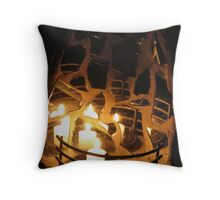 Lifes many reflections Throw Pillow