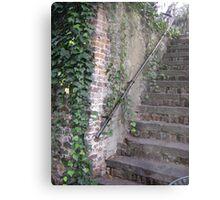 Creepy Stairs Metal Print