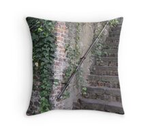 Creepy Stairs Throw Pillow