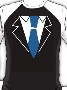 Blue Tie Suit T-Shirt