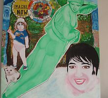 The Beatles & Sisters Australiana 1964 : Nude Divine by Sunil