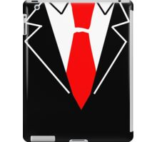 Red Tie Suit iPad Case/Skin