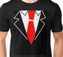 Red Tie Suit Unisex T-Shirt