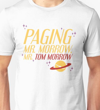 Mr. Morrow Unisex T-Shirt