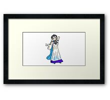 Princess Tina Framed Print