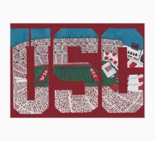 USC Coliseum Letters by Marcel Sylvester