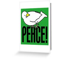 DOVE OF PEACE-2 Greeting Card