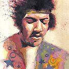 Psychedelic Hendrix by Andy  Housham