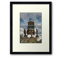 Pathan Space Truck~ Ahmed Delta Star, Your cleared for Approach at Khost Cloud City Docking Bay 22 Framed Print