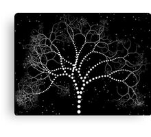 Dotted Tree Canvas Print