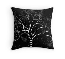 Dotted Tree Throw Pillow
