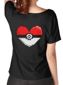 PokeHeart Women's Relaxed Fit T-Shirt