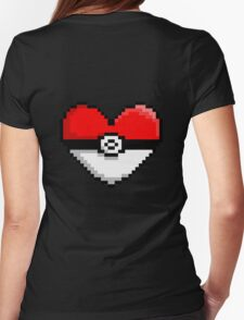 PokeHeart Womens Fitted T-Shirt