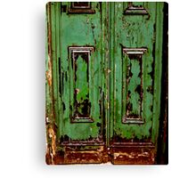 green door ... Canvas Print