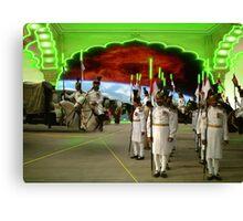 The Pakistani Starfleet Army Canvas Print