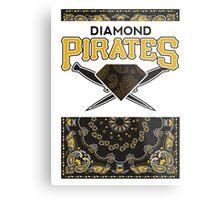 Diamond Pirates Metal Print