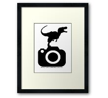 Photography - Dinosaur TShirt Framed Print
