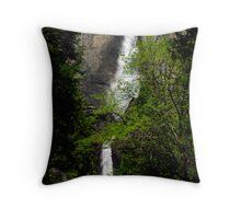 Yosemite Falls Vista Throw Pillow