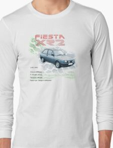 Fiesta XR2 Classic Car Men's T-shirt Long Sleeve T-Shirt