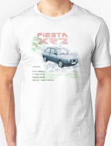 Fiesta XR2 Classic Car Men's T-shirt Unisex T-Shirt