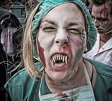 Zombie Walk (4) by Reg  Lyons