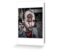Zombie Walk (6) Greeting Card