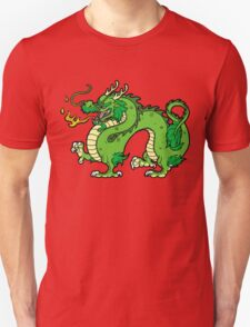 Chinese Dragon - Green T-Shirt