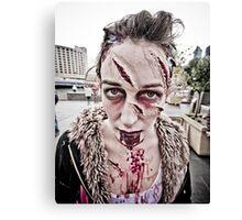 Zombie Walk (9) Canvas Print