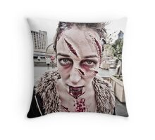 Zombie Walk (9) Throw Pillow