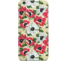 Watercolor Modern Floral Pattern iPhone Case/Skin
