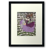 Falling Well Framed Print